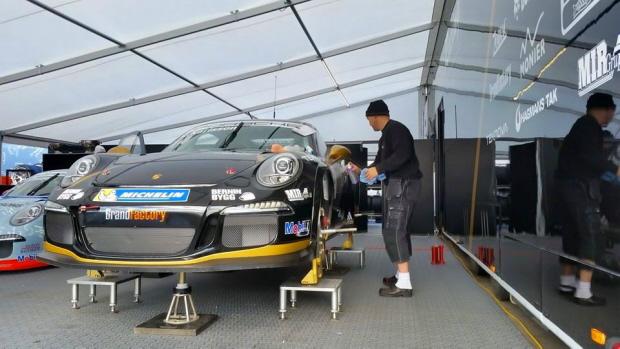 Fahrerlager Racing-Team Zeltboden SUPREME