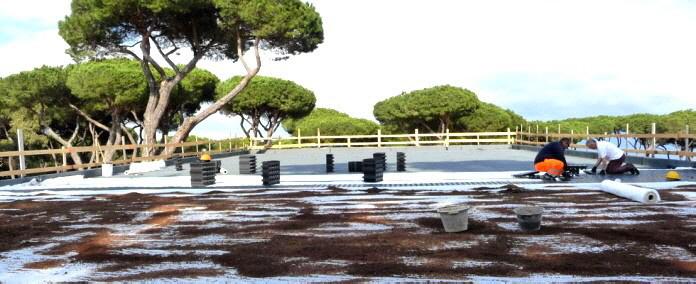 Sicherheit und Schutz der Wasserdichtung auch in befahrbaren Oberflächen