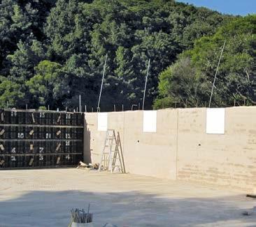 Betonschalungen für natürliche Baustoffe wie Stampflehm